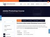 Best Photoshop Training Institute in Delhi