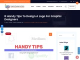 8 Handy tips for Logo Designing from Graphic Design Institute