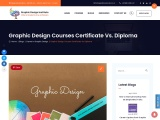 Graphic Design Courses Certificate Vs. Diploma