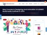 New Courses in Designing and Animation at ADMEC Multimedia Institute