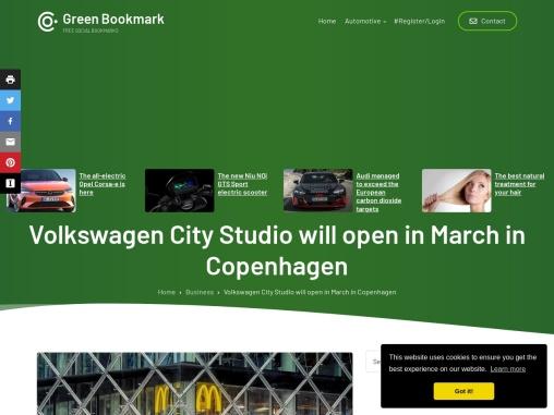 Volkswagen City Studio in Copenhagen