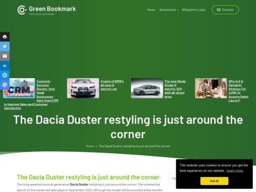 The Dacia Duster in Slovenia, Croatia and Serbia