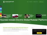 Electric Global Modular Platform from Hyundai