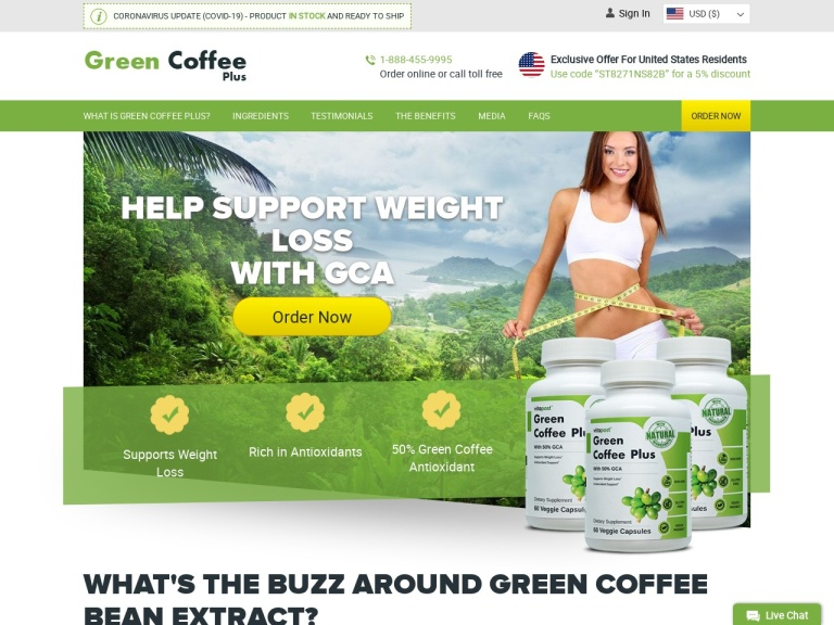 Green Coffee Plus screenshot