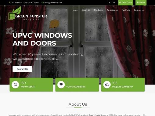 UPVC Window Manufacturers In Coimbatore | UPVC Door Manufacturers