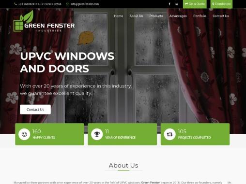 UPVC Window Manufacturers In Chennai | UPVC Door Manufacturers