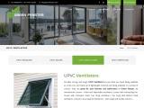 UPVC Ventilators In Chennai | UPVC Arch Windows – Green Fenster