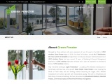 UPVC Wooden color windows in Coimbatore   UPVC Windows – Green Fenster