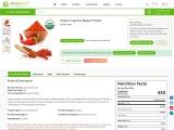 USDA Approved Bulk Organic Cayenne Pepper Powder