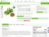 Organic Holy basil extract powder 10:1