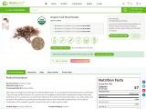 USDA Approved Bulk Organic Irish Moss Powder
