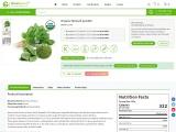 Bulk Organic Spinach Powder   Organic Spinach Powder Supplier
