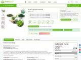 Bulk Organic Spirulina Powder   Organic Spirulina Powder Supplier