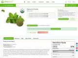 Top Peppermint Powder Supplier | Bulk Peppermint Powder Supplier