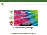 Best Kashmir Holiday Packages – Book Kashmir Tour Packages