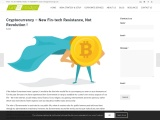 Cryptocurrency – New Fin-tech Resistance, Not Revolution !