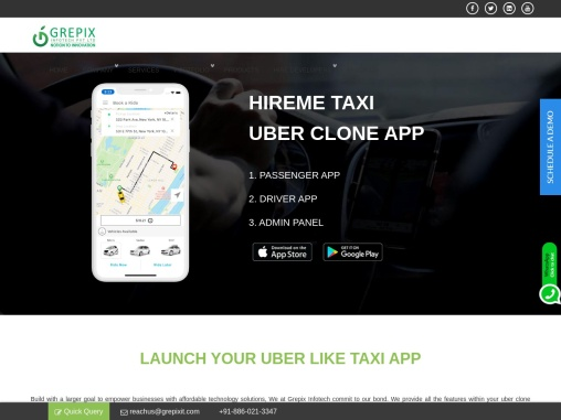 Uber Clone Android Application