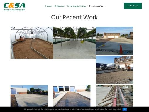Ground Works Contractors Leeds Recent Work