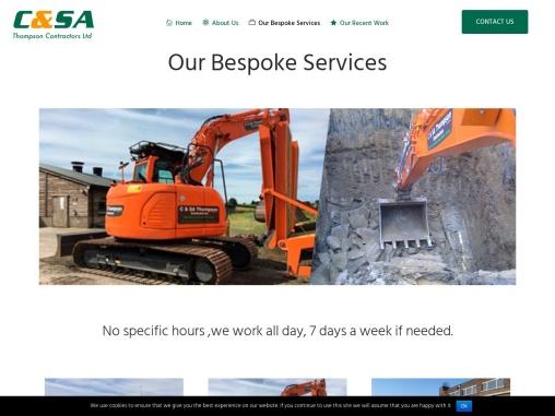 Ground Works Contractors Leeds Services