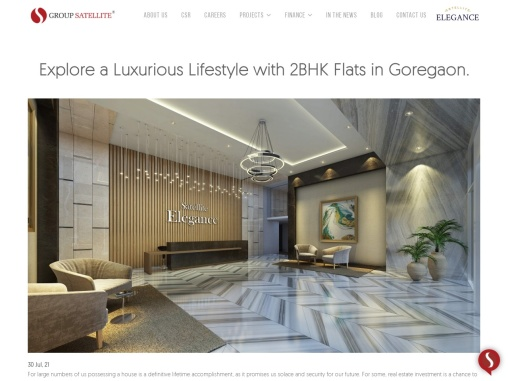 Explore a Luxurious Lifestyle with 2BHK Flats in Goregaon