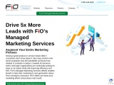 Managed Marketing Services   Group FiO