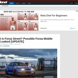 What is Forza Street? Possible Forza Mobile Title Leaked [UPDATE]