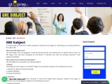 GRE Subject Test Training Classes at GT Prep