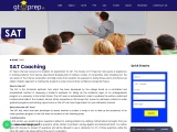 SAT Coaching with Expert Faculty – GT Prep