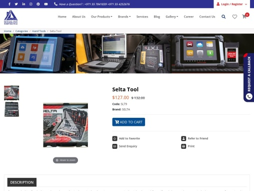 Selta Tools Supplier in the United Arab Emirates