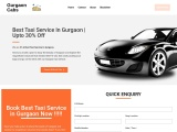 What are the best taxi service in gurgaon?