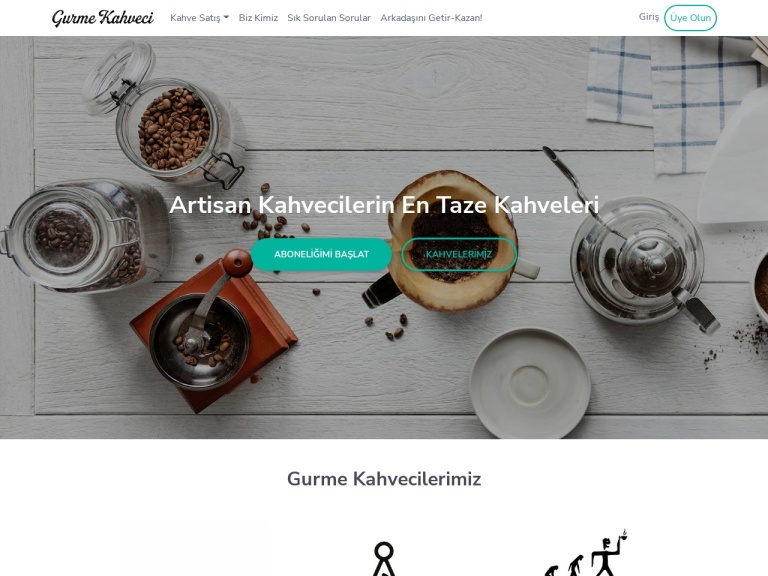 Gurme Kahveci screenshot