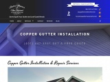 Copper Gutter Repair Company in New England