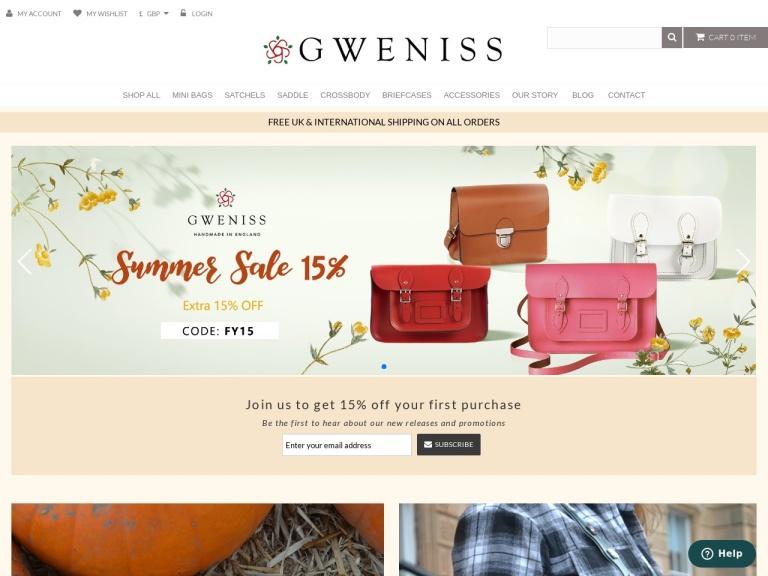 Gweniss screenshot