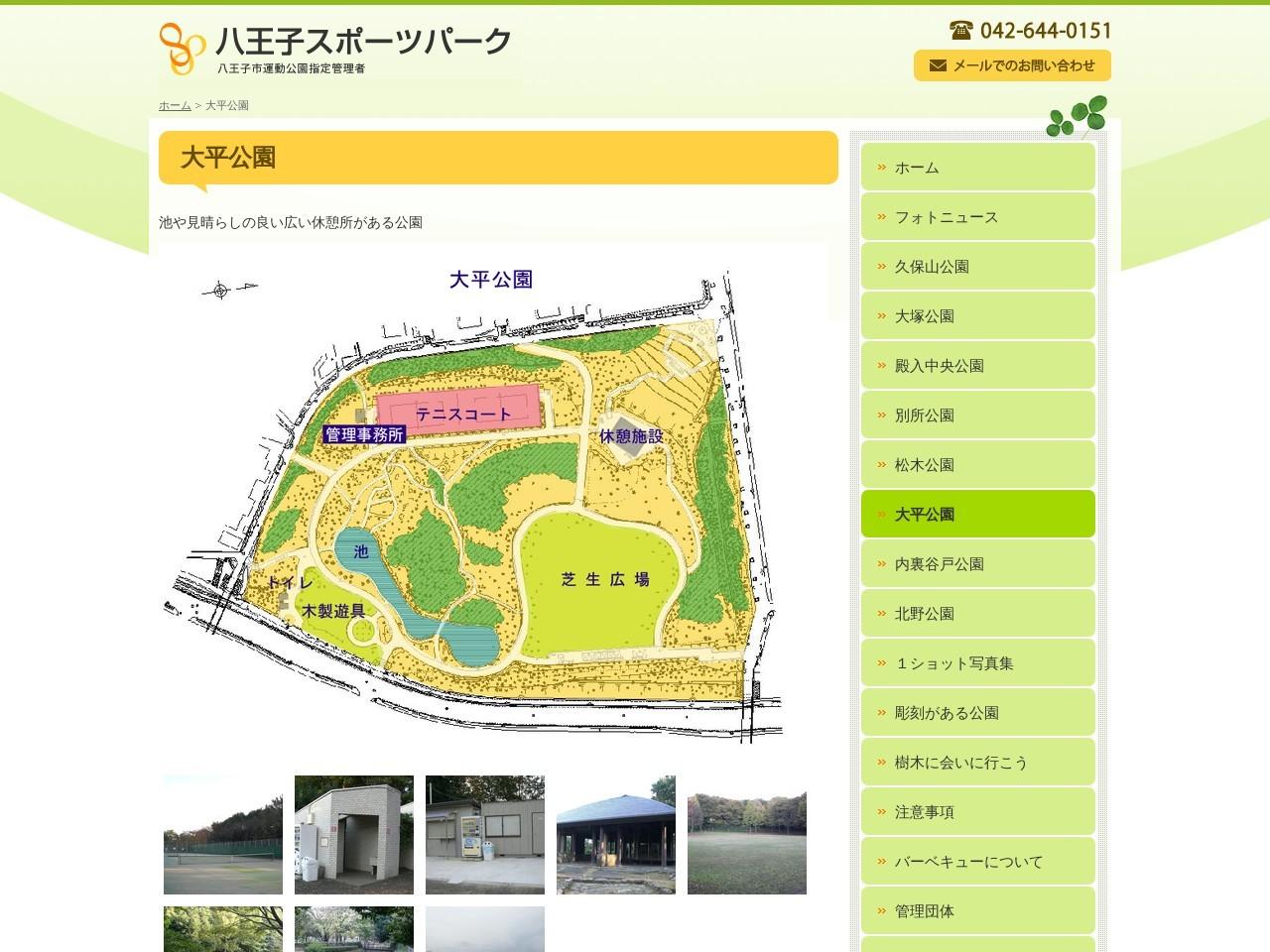 大平公園テニスコート