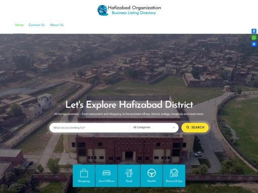 District Hafizabad Punjab Pakistan – Online Directory