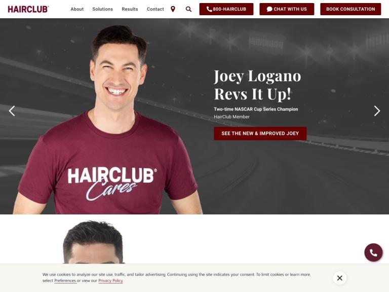 HairClub screenshot