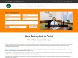 Hair Transplant In Delhi Why Hair & Senses Clinic for Hair Transplant in Delhi?