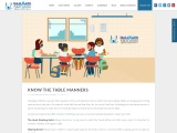 KNOW THE TABLE MANNERS | Panchkula CBSE Schools