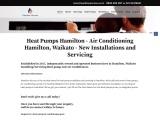 Heat Pumps Servicing in Hamilton
