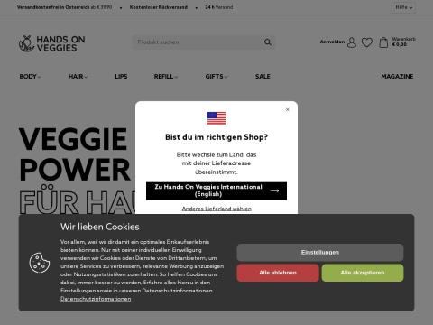 Hands on Veggies - Green Cosmetics