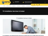 TV Installation Services in Dubai