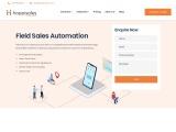 Sales Employee Tracking App – Happisales