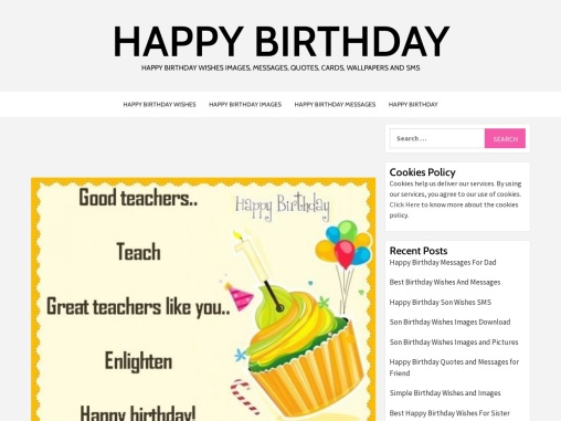Happy Birthday Wishes for Teacher, Messages and Quotes images