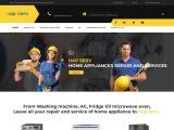 AC, Fridge, Washing Machine Service in Coimbatore | Hapserv