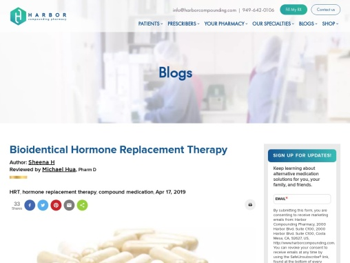 Bioidentical Hormone Replacement Therapy Benefits and Uses