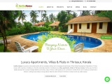 Ready to occupy villas and apartments in thrissur