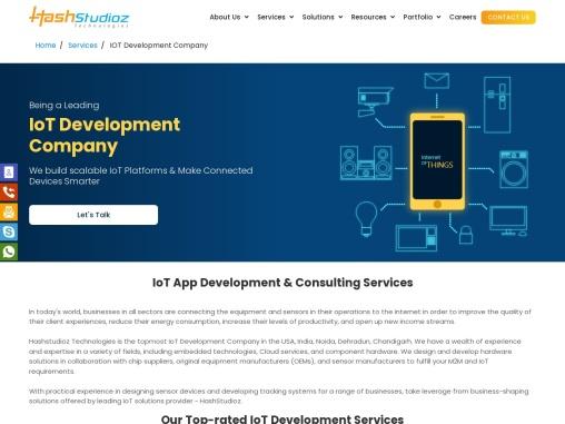 IoT Application Development Solutions