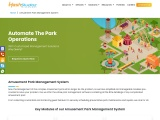 amusement park software solution