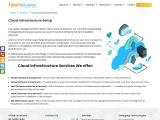 cloud infrastructure setup development