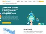 CRM Software Development Solutions